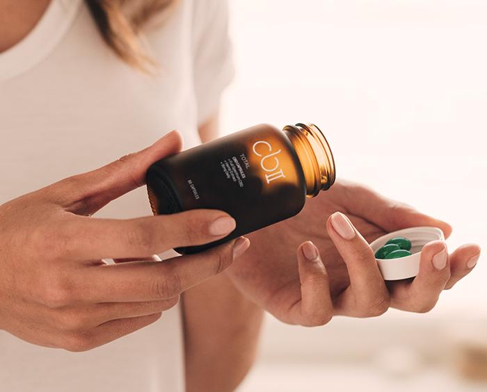 CBII CBD capsules with added vitamins