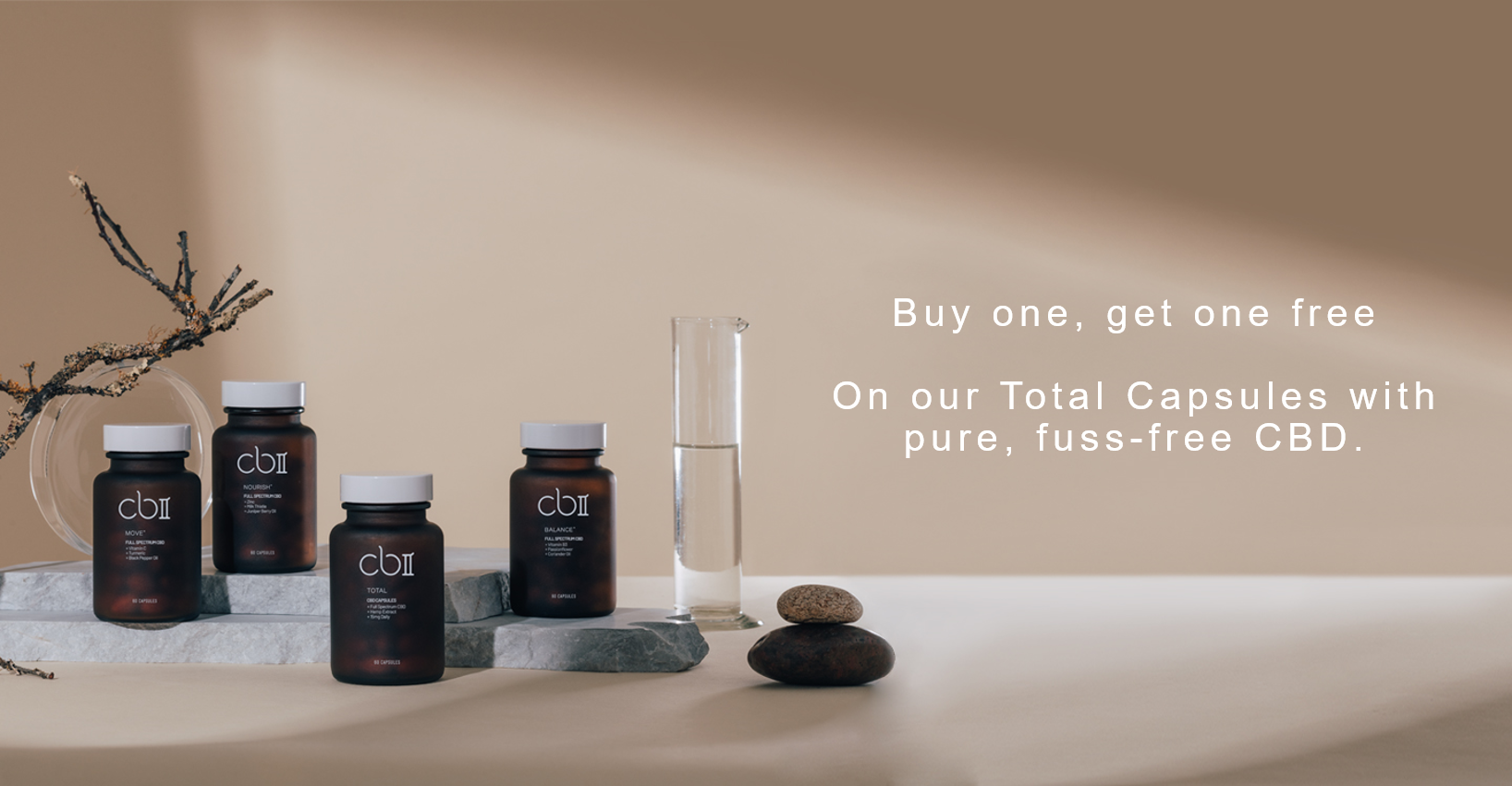 Buy one, get one free Total capsules