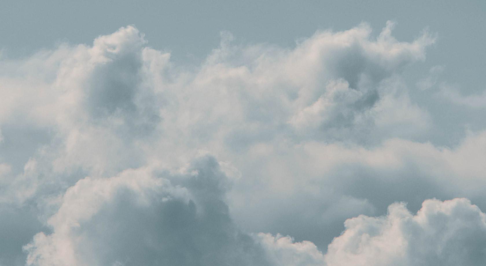 Sleep beautiful clouds